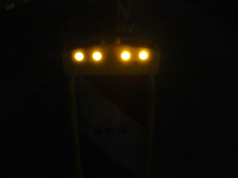 Solar-LED-Warnkappe